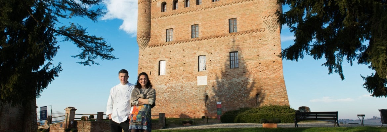 """Ristorante Al Castello"""" all'interno del Castello di Grinzane"""