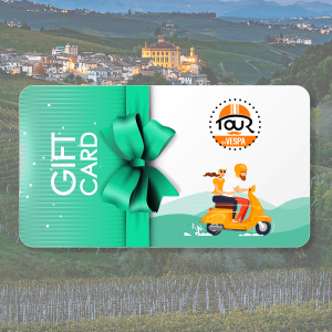 Gift Card - Weekend stellato nelle Langhe in Vespa