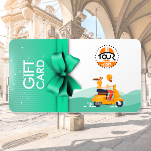 Gift Card - Weekend a Torino in Vespa